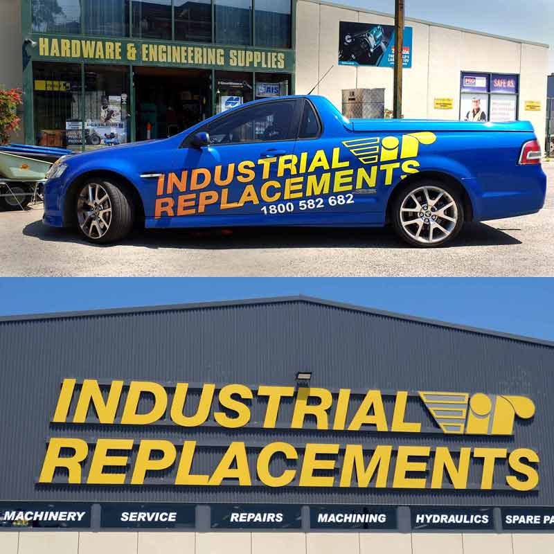Contact Industrial Replacements